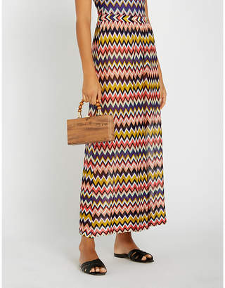 Missoni Chevron knitted trousers