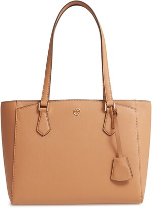 Tory Burch Small Robinson Saffiano Leather Tote