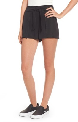 Women's Socialite Tie Waist Shorts $45 thestylecure.com