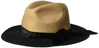 2b0421deaa1 ... Amazon.com · Orchid Row Women s Fashion Wranger Hat with Velvet Band   Black ...