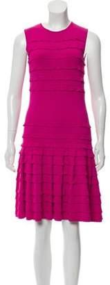 Christian Dior Sleeveless Knee-Length Dress Pink Sleeveless Knee-Length Dress
