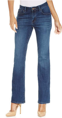 Cassandra Lee Platinum Curvy-Fit Bootcut Jeans