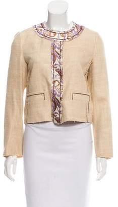 Prada Tweed Evening Jacket