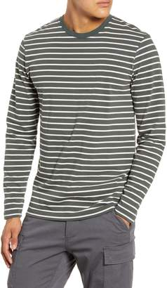 Wings + Horns Stripe Long Sleeve T-Shirt