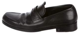 Louis Vuitton Leather Dress Loafers