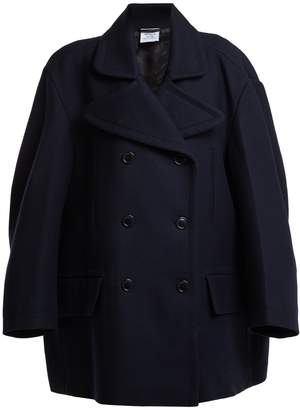 Vetements Oversized double-breasted wool-blend coat