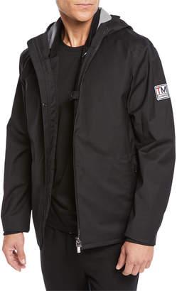 Ermenegildo Zegna Men's Soft-Shell Tech Jacket with Detachable Vest