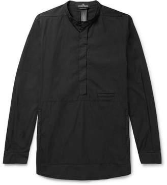 Stone Island Shadow Project Cotton-Blend Henley Shirt