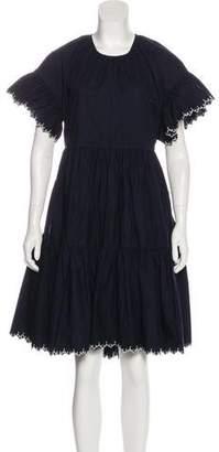 Ulla Johnson Ruffle Knee-Length Dress