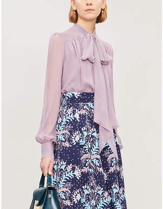 Erdem Lucien silk-georgette blouse