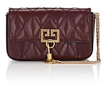 Givenchy Women's Pocket Mini Leather Crossbody Bag - Md. Red