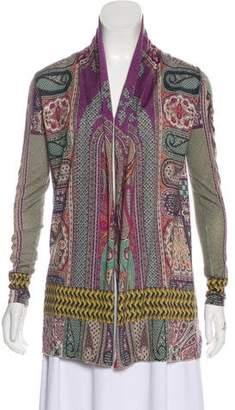 Etro Silk & Cashmere-Blend Cardigan