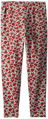 Polo Ralph Lauren Floral Stretch Jersey Leggings Girl's Casual Pants