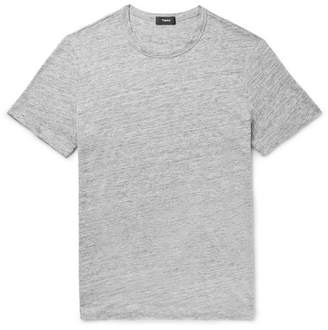 Theory Essential Mélange Linen T-Shirt