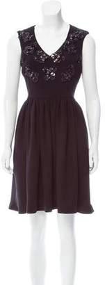 Megan Park Embellished Mini Dress w/ Tags