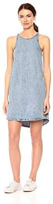 Lucky Brand Women's Denim Button Back Dress