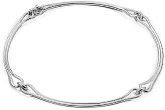 Shinola Sterling Silver Lug Collar Necklace