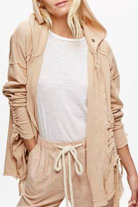 Free People Oversized Hooded Cardigan $128 thestylecure.com