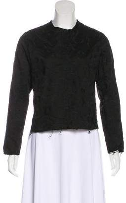 Aries Embroidered Long Sleeve Top