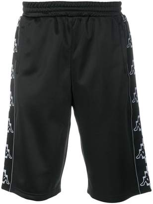 Marcelo Burlon County of Milan Kappa print shorts