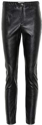 Etoile Isabel Marant Isabel Marant, Étoile Zeffery faux leather leggings