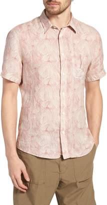 Billy Reid Martin Print Sport Shirt