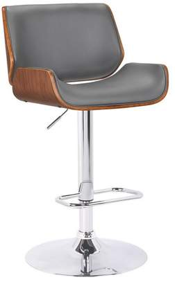 Armen Living London Contemporary Swivel Barstool
