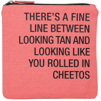 ABOUT FACE DESIGNS Rolled In Cheetos Cosmetic Pouch $14.99 thestylecure.com