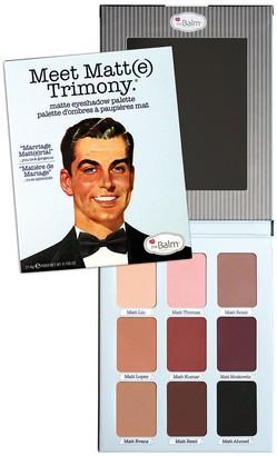TheBalm Meet Matt(e) Trimony Matte Eyeshadow Palette