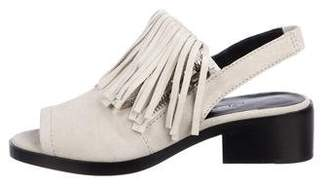 3.1 Phillip Lim Suede Slide Sandals