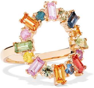 Ileana Makri 18-karat Gold Sapphire Ring