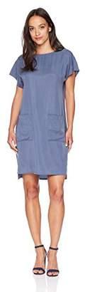 Pendleton Women's Petite Simple Short Sleeve Shift Dress