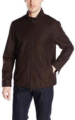 Rainforest Men's Waterproof Breathable Micro Twill Bomber Jacket