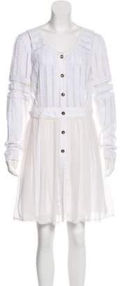 Temperley London Long Sleeve Mini Dress