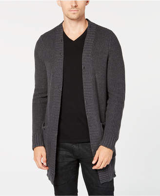 INC International Concepts I.N.C. Men's Classic-Fit Open-Front Cardigan, Created for Macy's