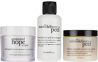 philosophy Super-Size Vitamin-C Peel & Renewedhope Duo