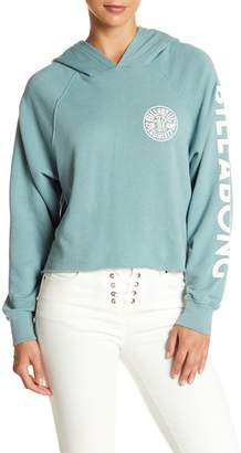 Billabong Shore Sway Crop Hooded Pullover
