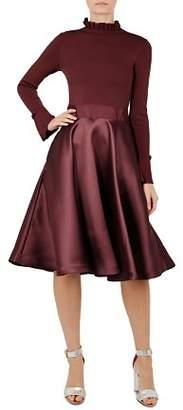 Ted Baker Zadi Frill-Cuff Dress