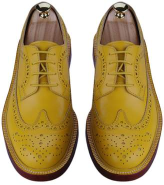 3.1 Phillip Lim DEXINXIEYE @ England Gubuluoke complex England carved leather shoes Oxford shoes with low to help women's business tie casual shoes simple Round Rubber Lace
