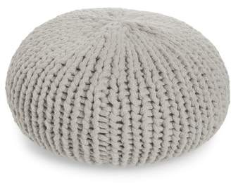 Treasure & Bond Jersey Rope Round Accent Pillow