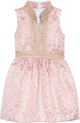 Lilly Pulitzer R) Mini Franci Brocade Dress