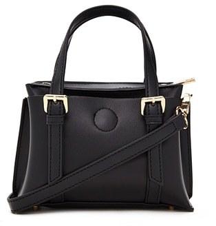 FOREVER 21+ Faux Leather Mini Satchel $22.90 thestylecure.com