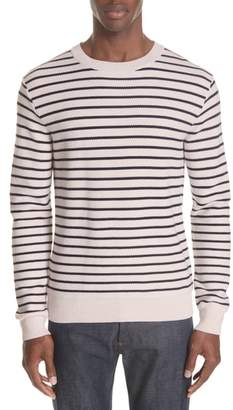 A.P.C. Striped Crewneck Sweater