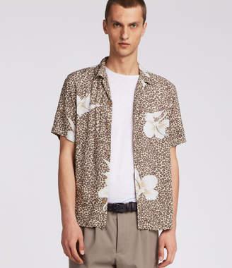 AllSaints Kuhi Hawaiian Shirt