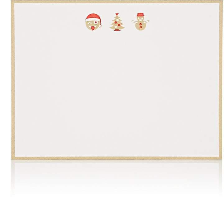 Connor Holiday Emoji Notecard