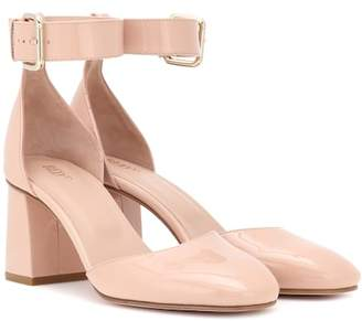 RED Valentino Patent leather block heel pumps