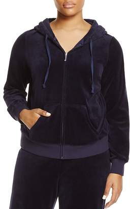 Juicy Couture Black Label Robertson Velour Zip Hoodie - 100% Exclusive