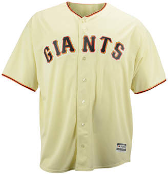 Majestic Mlb Men Big & Tall Shirt, San Francisco Giants Authentic Collection Jersey
