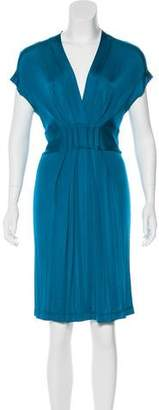 Philosophy di Alberta Ferretti Knee-Length Pleated Dress w/ Tags