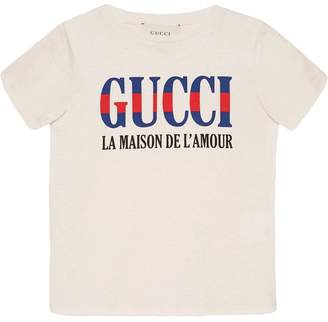 Gucci Kids Children's T-shirt with print